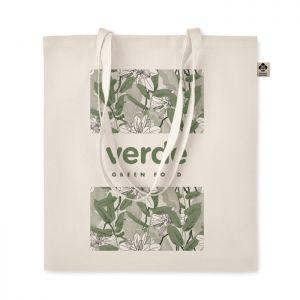 Bolsa compra algodón orgánico personalizada