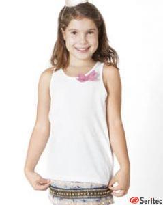 Camiseta niña personalizable