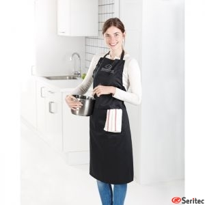 Delantal de cocina ajustable publicitario