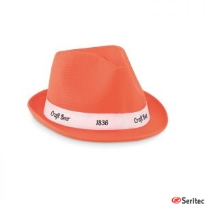 Sombrero de poliéster de color publicitario